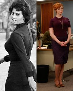 Mad Men's Fashion for Females - Get more Entertainment News - Elle
