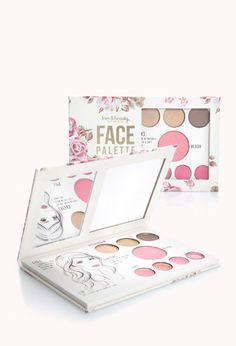 Rose Face Palette   FOREVER21 - 1000110774