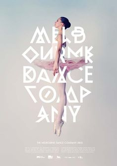 Melbourne Dance Company #webdesign #design #designer #inspiration #user #interface #ui #typography #posters #type #fonts
