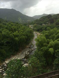 El Rio Saliente - Jayuya, PR