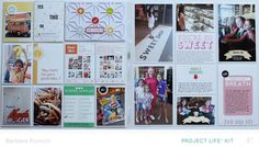 Studio Calico Sandlot full reveal #projectlife #scrapbook