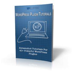 WordPress Plugin Tutorials