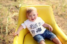 Jesus Is My Jam Tee Toddler t-shirt Infant by LovelyLittlesShop