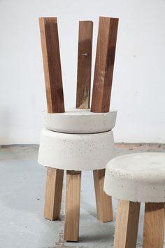 Banquitos de concreto