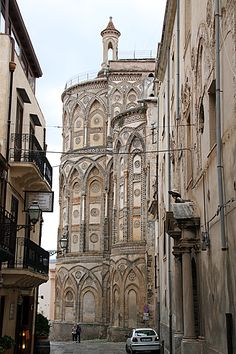 Normanic Arabic - exterior of Monreale Cathedrale.  Walk all around the Cathedral