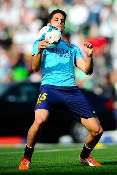 Marc Bartra of FC Barcelona