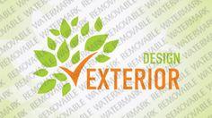 Exterior Design Logo Templates by Logann