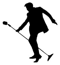50s Elvis Silhouette with Mic Stand 1.jpg (394×425)