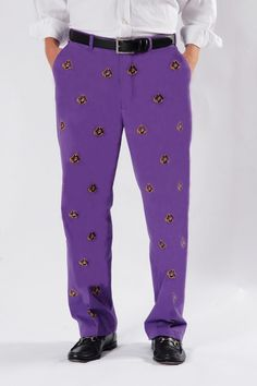 East Carolina University Purple Pants - Men