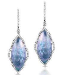 Doves by Doron Paloma Ivory Sky earrings