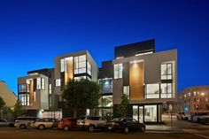 Kennerly #Architecture & Planning have designed 300 Cornwall, a mixed-use development in San Francisco, California.