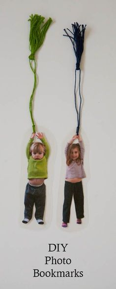 DIY Photo Bookmarks by Nearly Crafty and other fabulous FATHER'S DAY DIY GIFT IDEAS