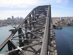 Top of the Harbor Bridge