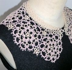 Tatted collars - not English - no pattern - Inspiration