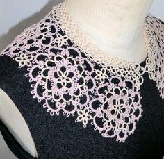 Tatted collars - not English - no pattern - Inspiration
