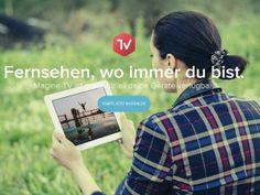 Gratis Fernsehen Magine TV ist in Deutschland seit April 2014 verfügbar und bietet hier neben ARD, ZDF, RTL, Pro Sieben und Sat.1, über 60 Sender an.