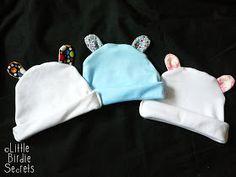 Little Birdie Secrets: easy knit baby hats