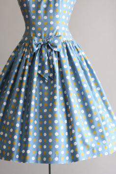 Vintage 50er Jahre Kleid / 50er Jahre von TuesdayRoseVintage