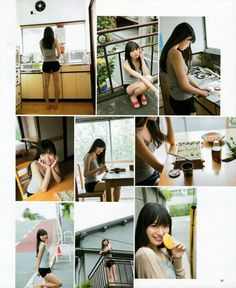 "NGT48 Rie Kitahara ""Life Goes On"" on Bomb Magazine"