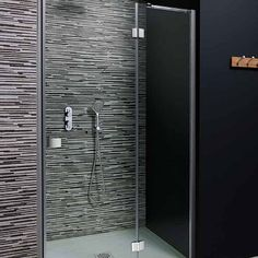 Simpsons Design Hinged Door With Inline Panel | Shower Enclosures | CP Hart