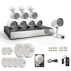 Funlux 8CH Surveillance Security Camera System