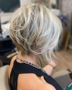 Medium Hair Cuts, Short Hair Cuts, Cute Hairstyles For Short Hair, Curly Hair Styles, Straight Hairstyles, Short Layered Bob Haircuts, Short Hair With Layers, Great Hair, Hair Dos