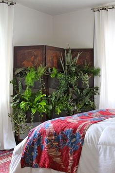 Vertical garden wall screen!