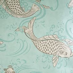 Osborne & Little Folia Derwent Osborne And Little Wallpaper, Wallpaper For Sale, Wallpaper Samples, Aquarium Set, Cole And Son, Painted Paper, Designer Wallpaper, Textile Art, Fabric Design