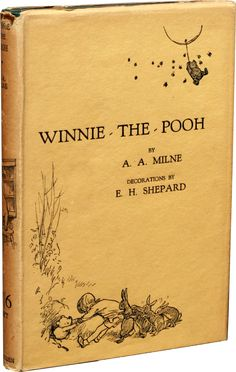 No sign of Disney here - Winnie the Pooh first edition from 1926.