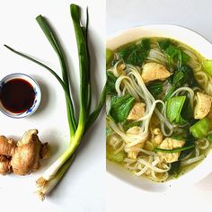 Sew French: Asian Noodle Soup