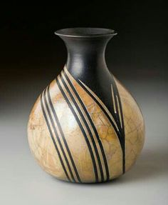 This is a sampling of my Raku work. Raku is particularly challenging as it's difficult to achieve consistent results and cracking during firing is not uncommon. When things go well, though, the results are quite satisfying. Raku Pottery, Pottery Sculpture, Earthenware, Stoneware, Clay Vase, Pottery Techniques, Pottery Designs, Gourd Art, Pottery Painting