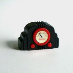 Miniature Bakelite radio