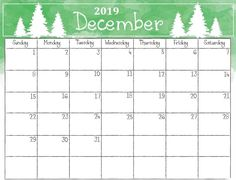 Printable Calendar December 2019 With Holidays And Cute Free Printable 12 Best December 2019 Printable Calendar images