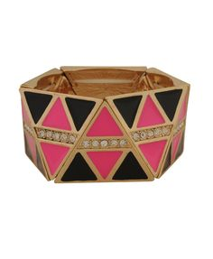 Faceted Triangle Bracelet from Forever 21