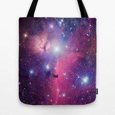 Purple Galaxy Tote Bag - Available Here: http://society6.com/rapplatt/Purple-Galaxy-KWS_Bag#26=197