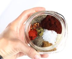 Skip the additives and artificial ingredients and whip up a big batch of this FABULOUS natural taco seasoning mix. I'll never go back to buying those expensive little packets again! Taco Seasoning Mix Recipe, Seasoning Mixes, Seafood Recipes, Mexican Food Recipes, Dinner Recipes, Healthy Cooking, Cooking Recipes, Taco Spice, Western Food