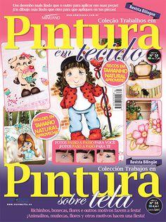 Artesanato - Pintura : COL TRABALHOS EM PINTURA EM TECIDO 038 - Editora Minuano