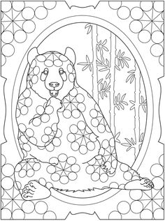 Wildlife Designs To Color Coloring Book Dover Publications