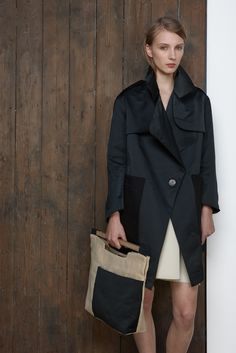 COAT / MUKO  //  SKIRT / KIVU  //  BAG / SEMU