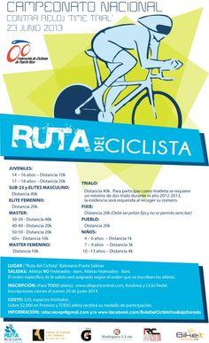 Campeonato Nacional: Contra el Reloj @ Ruta del Ciclista, Toa Baja