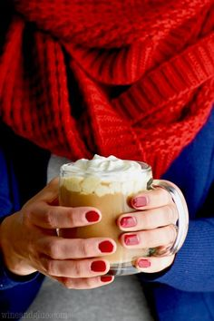 This Eggnog Latte recipe is like having Starbucks at home! Make your favorite Starbucks seasonal offering right in the comfort of your own home. You are going to want to make this all the time.