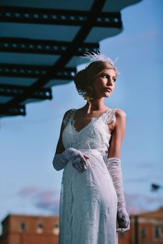 #wedding_dresses by Victoria Kyriakides see more: http://www.love4wed.com/bridal-styled-shoot-victoria-kyriakides/