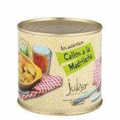 Callos a la Madrileña, Calidad Extra  Origen: La Rioja - Navarra, Peso bruto: 900 gr., Peso neto: 600 gr., Envase: Lata 650 - See more at: http://www.labuenamesa.eu/index.php?id_product=190&controller=product&id_lang=1#sthash.uEoec0Dq.dpuf