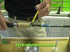 Step Epoxy Finish- Rod Building Made Easy Fly Fishing Girls, Gone Fishing, Fishing Tips, Fishing Stuff, Bass Fishing, Custom Fishing Rods, Fishing Rods And Reels, Rod Building Supplies, Cool Wraps