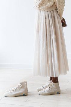 1394f606d5d0 rennes — Shoes Like Pottery High Top Sneaker Cream Skoskåp, Våroutfits, Štýl