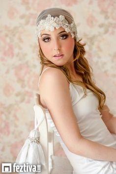 Accesorios de novia de Gertrudis Abdala, desde Feztiva.com