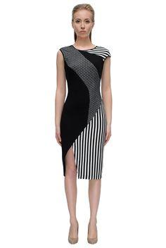 Game of Lines Dress - LATTORI дизайнерские платья