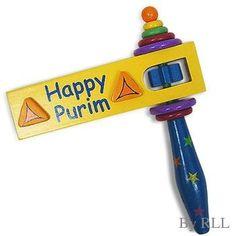 Happy Purim Noisemaker