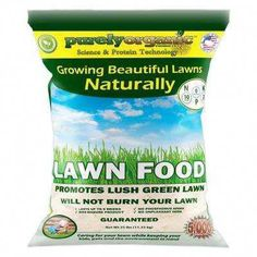 Purely Organic Lawn Food is a new all-natural lawn fertilizer. It covers sq. and can be used all year long. Purely Organic Lawn Food contains no dangerous chemicals or harmful ingredients. Organic Lawn Fertilizer, Organic Lawn Care, Organic Gardening, Indoor Gardening, Lawn Care Tips, Lawn Sprinklers, Cannabis Growing, Grass Seed, Green Lawn