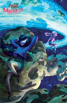 Variant Cover by Leela Wagner for Marceline Gone Adrift